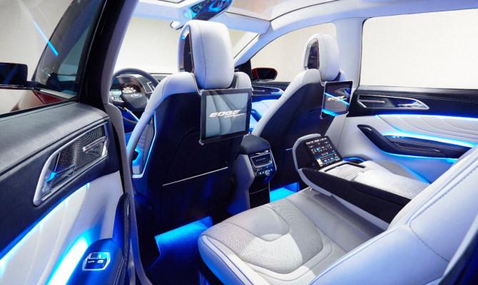 The Ford Edge Concept (Photo: Bob McHugh)