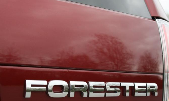 The 2009 Subaru Forester.